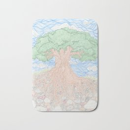 Roots and Leaves Bath Mat