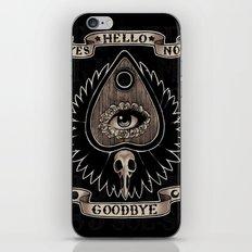 Planchette iPhone & iPod Skin