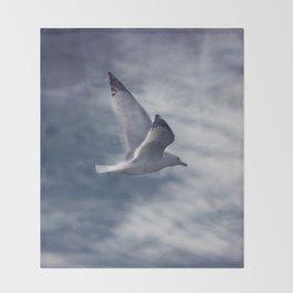 Jonathan Livingston Seagull Throw Blanket