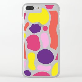 Pattern Play Clear iPhone Case