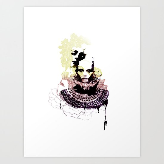 Bicéphale Art Print