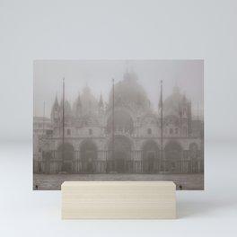 San Marcos Basilica at Piazza San Marcos, Venice, Italy Mini Art Print