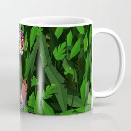 Wildfire in the jungle Coffee Mug