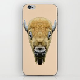 Bison low poly. iPhone Skin