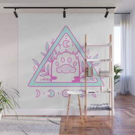 Witchy Cat Paw 02 Wall Mural