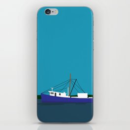Trawler Boat iPhone Skin