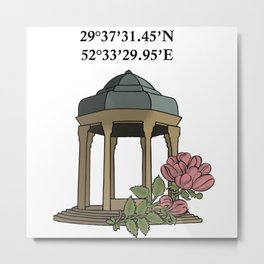 Tomb of Hafiz Metal Print