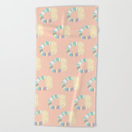 Candy Watch Beach Towel