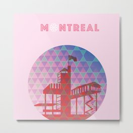 Montreal - Biosphere Metal Print
