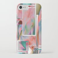 glitch iPhone & iPod Cases featuring Glitch by autumndellaway