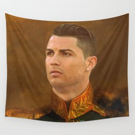 ronaldo - Replace face Wall Tapestry
