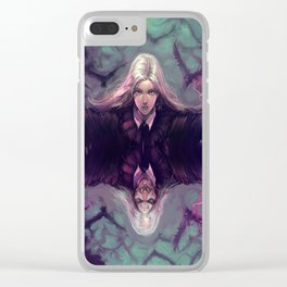 SOPHIE OF THE WOODS BEYOND Clear iPhone Case