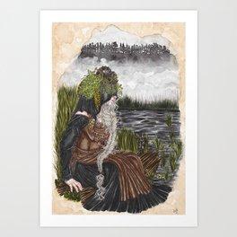 Nerthus the Earth Goddess Art Print