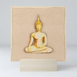 Buddha Serene Mini Art Print