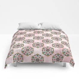 Botanical Mandala Comforters