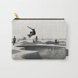 Skateboarding Print Venice Beach Skate Park LA Carry-All Pouch