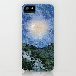 Starry Night Sunrise iPhone Case