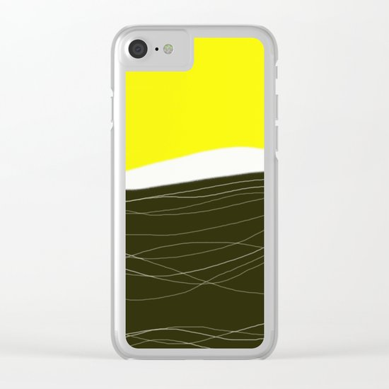 sunrise - design57 Clear iPhone Case