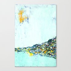 City On A Hill Canvas Print