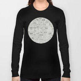 Skulls Pattern Long Sleeve T-shirt