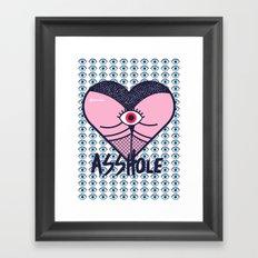 Asshole (Part II) Framed Art Print
