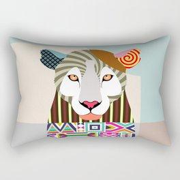 African Leopard Rectangular Pillow