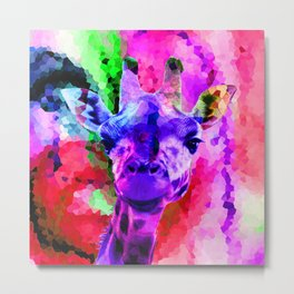 G-Raff Pink Metal Print