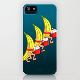 Banana Marching Band iPhone Case