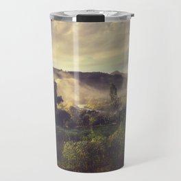 Sunrise Overflow Travel Mug