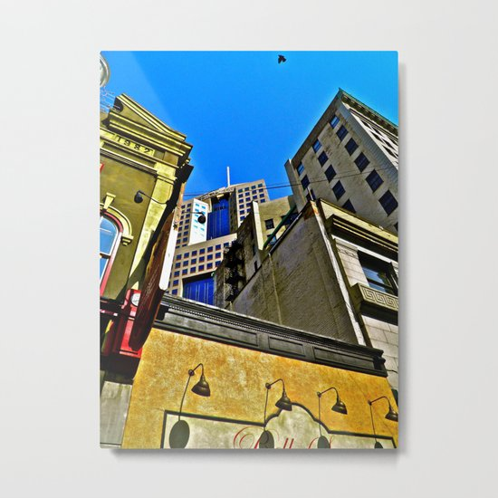 Look Up. Metal Print