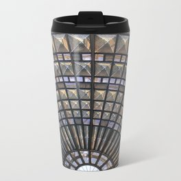 Union Station Window Metal Travel Mug