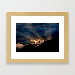 Enlighten Me Framed Art Print