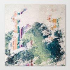 WATER/STRIPE2 Canvas Print