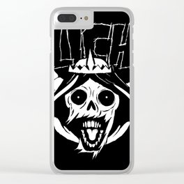 The Lich Clear iPhone Case