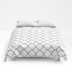 Minimalist Moroccan Comforters