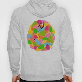 Be Colorful and Unique! - fruit pop art colorful kitchen modern nursery painting Hoody