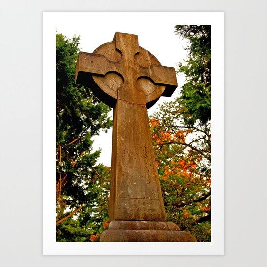Celtic Autumn Art Print
