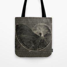 SEASHELL IN BLACK Tote Bag