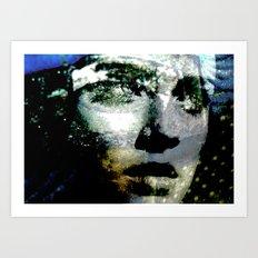 Celebrity Row - Alexis Art Print