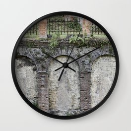 Albaicin Arches (Granada) Wall Clock