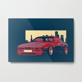 Classci Bmw -ART Metal Print