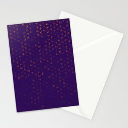 virgo zodiac sign pattern po Stationery Cards
