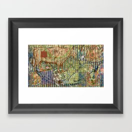 Driving Out Miss Martineau Framed Art Print