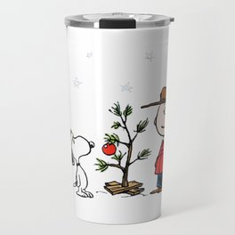 A Charlie Brown Christmas Travel Mug