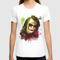 the joker T-shirts featuring Joker by Sirenphotos