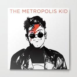 The Metropolis Kid Metal Print