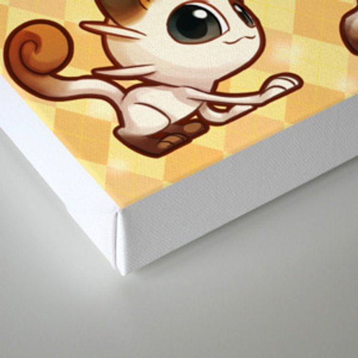 0c587143d Meowth That's Right! Canvas Print by shavostars | Society6