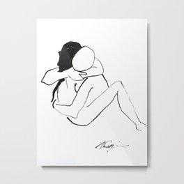 Lover's Series #58 Metal Print