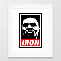 mike tyson Framed Art Prints featuring Tyson by Senna155