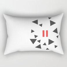 Opposite III Pause Rectangular Pillow